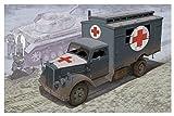 ドラゴン 1/35 第二次世界大戦 ドイツ軍 3トン 4×2トラック 野戦救急車 プラモデル DR6790