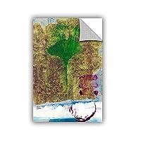 ArtWall Elana Ray's Ginko Leaf Appealz Removable Graphic Wall Art, 16 x 24', Multicolor [並行輸入品]