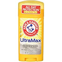 Arm & Hammer Ultra Max Advanced Anti-Perspirant & Deodorant Invisible Solid Unscented 73g (並行輸入品)