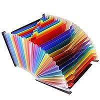 書類ケース ドキュメントスタンド ファイルボックス 書類 A4文書 ペーパー 拡張可能 - 13ポケット