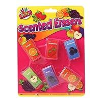 アートボックス–パックof 6香りつき消しゴム