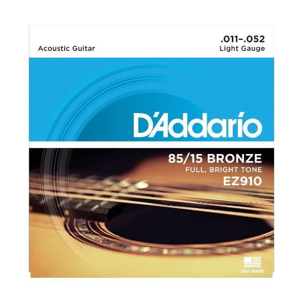 DAddario ダダリオ アコースティックギタ...の商品画像