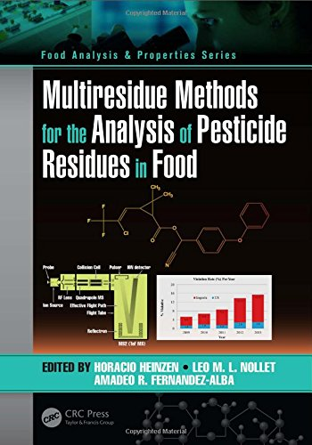 Download Multiresidue Methods for the Analysis of Pesticide Residues in Food (Food Analysis & Properties) 1482235099