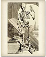 Death Comes in Time - 11x14 Unframed Art Print - Great Gift for Goth Fan [並行輸入品]