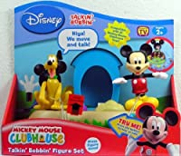 Mickey Mouse Clubhouse Talkin Bobbin Mickey and Pluto Dog House