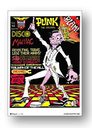 POS-068 PUNK Disco ロックシリーズ B5サイズミニポスター