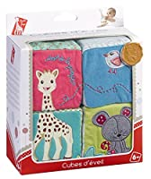 Sophie the Giraffe Early Learning Cubes by Vulli