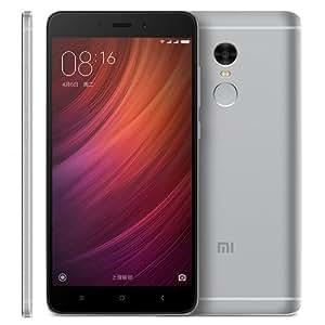 Xiaomi Redmi Note 4 64GB SIMフリー スマートフォン , Network: 4G LTE , 5.5 inch スクリーン MIUI 8.0 MTK Helio X20 Deca Core up to 2.1GHz , RAM: 3GB , ROM: 64GB , (グレー) [並行輸入品]