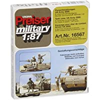Unpainted US Army Tank Crew 2000 (8) (Kit) HO Scale Preiser Models by Preiser [並行輸入品]