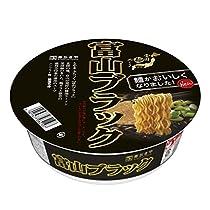 寿がきや 全国麺めぐり 富山ブラックラーメン 108g×12個