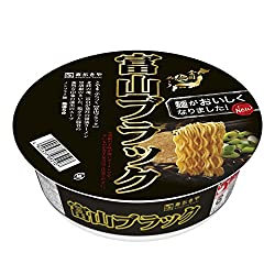 寿がきや 全国麺めぐり 富山ブラックラーメン 108g