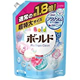 【大容量】 ボールド 洗濯洗剤 液体 香りのサプリインジェル プラチナピュアクリーンの香り 詰替用 超特大サイズ 1.26kg