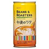 UCC BEANS & ROASTERS 午後のラテ 缶コーヒー 185g×30本