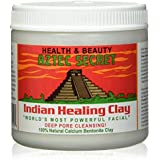 Aztec Secret - Indian Healing Clay - Deep Pore Cleansing Facial & Healing Body Mask - The Original 100% Natural Calcium Bentonite Clay - 454g