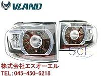 トヨタ FJクルーザー 2007y- LED ファイバー テールランプ クリアインナーブラック