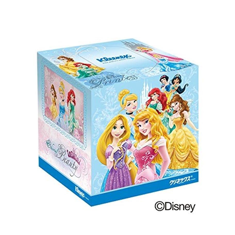 労苦スローオフセット日本製紙クレシア:クリネックス ティシュー ディズニー プリンセス 160枚(80組)×12箱