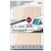 iPad mini 4 用 ハードケースカバー ゴールド TBC-IPM1507GL