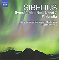 Sibelius: Symphonies 6 and 7 / Finlandia by New Zealand Symphony Orchestra (2011-09-27)