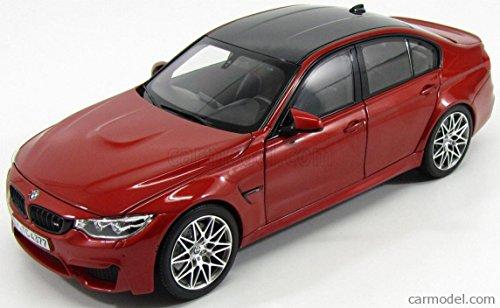 BMW 3シリーズ M3 ミニカー 1/18 NOREV - BMW - 3-SERIES M3 F80 COMPETITION 2016 SAKHIR ORANGE MET