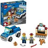 LEGO City Police Dog Unit 60241 Police Toy, Cool Building Set for Kids