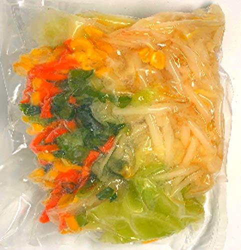 冷凍野菜ミックス(ラーメン用) 国産徳島、岡山、北海道産など))ラーメン用の野菜ミックス 200g(二人前)×2 国産冷凍野菜ミックス インスタントラーメン、チャンポン用の冷凍野菜ミックス【消費税込み】