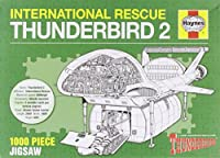 Haynes: Thunderbirds TB1-TB5 (1000 Piece Jigsaw)