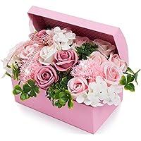 ソープフラワー 創意ジュエリーギフトボックス 誕生日 母の日 記念日 先生の日 バレンタインデー 昇進 転居など最適としてのプレゼント