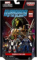 Marvel Legends Series Guardians of the Galaxy Gamora and Star-Lord Action Figures 3.75 Inches [並行輸入品]