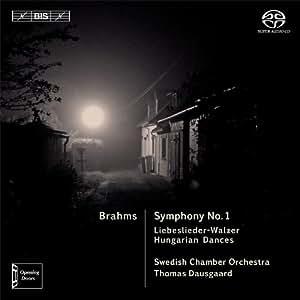 ブラームス : 交響曲第1番、ハンガリー舞曲集 他 (Brahms : Symphony No.1 / Dausgaard, Swedish CO) [SACD Hybrid] [輸入盤]