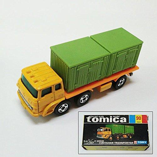 (中古品) トミカ (B) 90 絶版・廃版 ふそうコンテナ 運搬車 トミーTOMY