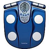 OMRON 体重体組成計 カラダスキャン[チェック]  メタリックブルー HBF-355-A