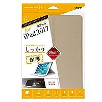 iPad 9.7inch 2017 用 ハードケースカバー ゴールド 47854