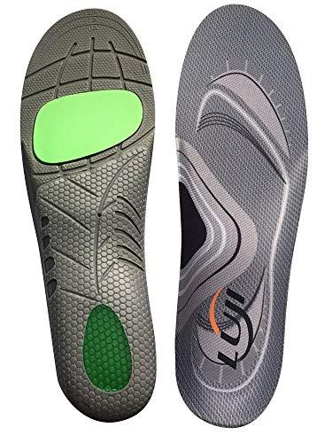 インソール 人間工学に基づいた衝撃吸収 中敷き 立ち仕事 スポーツ用 サイズ調整可 土踏まず クッション性 アーチサポート 扁平足 疲労軽減 防滑 男女兼用 4サイズ