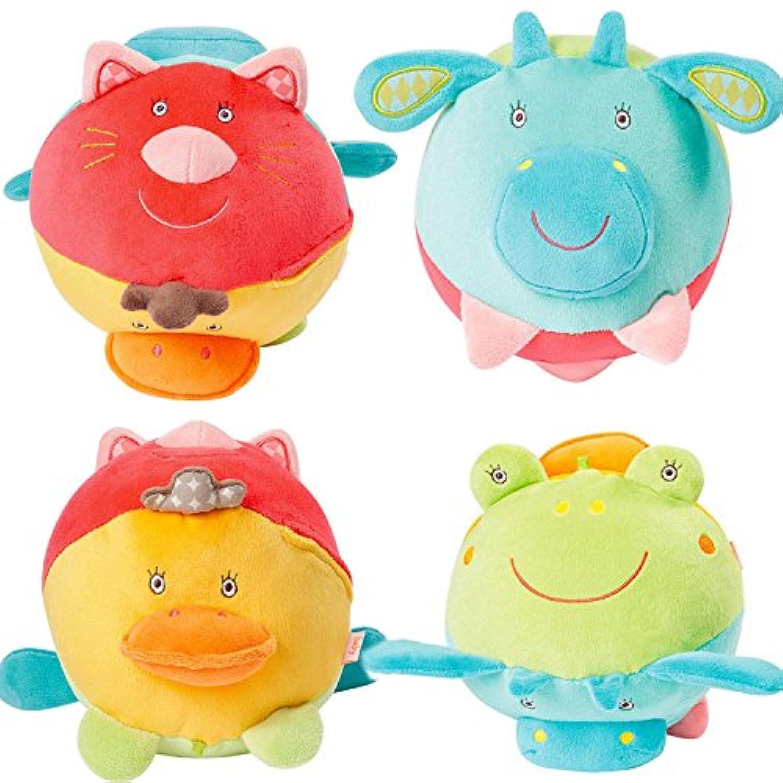 ychoice Lovelyベビーおもちゃギフト子供教育動物手カラフルSensory Ball Kids Funnny手ボールおもちゃギフト