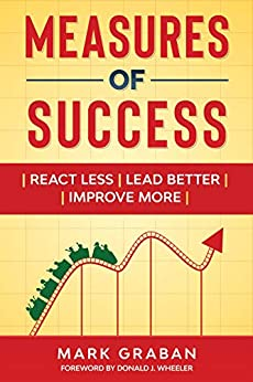 Measures of Success: React Less, Lead Better, Improve More by [Graban, Mark]