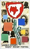 ポスター ドナルド バチェラー モストリー モーツァルト フェスティバル 1995年 限定800枚 額装品 ウッドハイグレードフレーム(ホワイト)