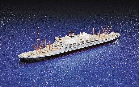 青島文化教材社 1/700 ウォーターラインシリーズ 日本郵船 春日丸 プラモデル 508