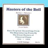 Masters Of The Roll - Rarities Volume 1 - Disc 31 by Gustav Mahler (2011-03-02) 【並行輸入品】