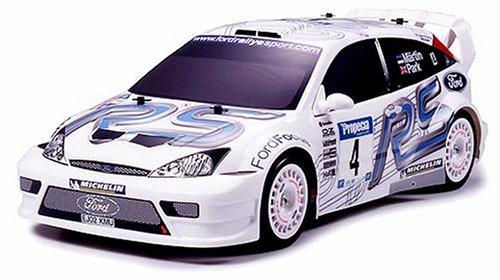 1/10 電動ラジオコントロールカー シリーズ フォードフォーカス WRC 03