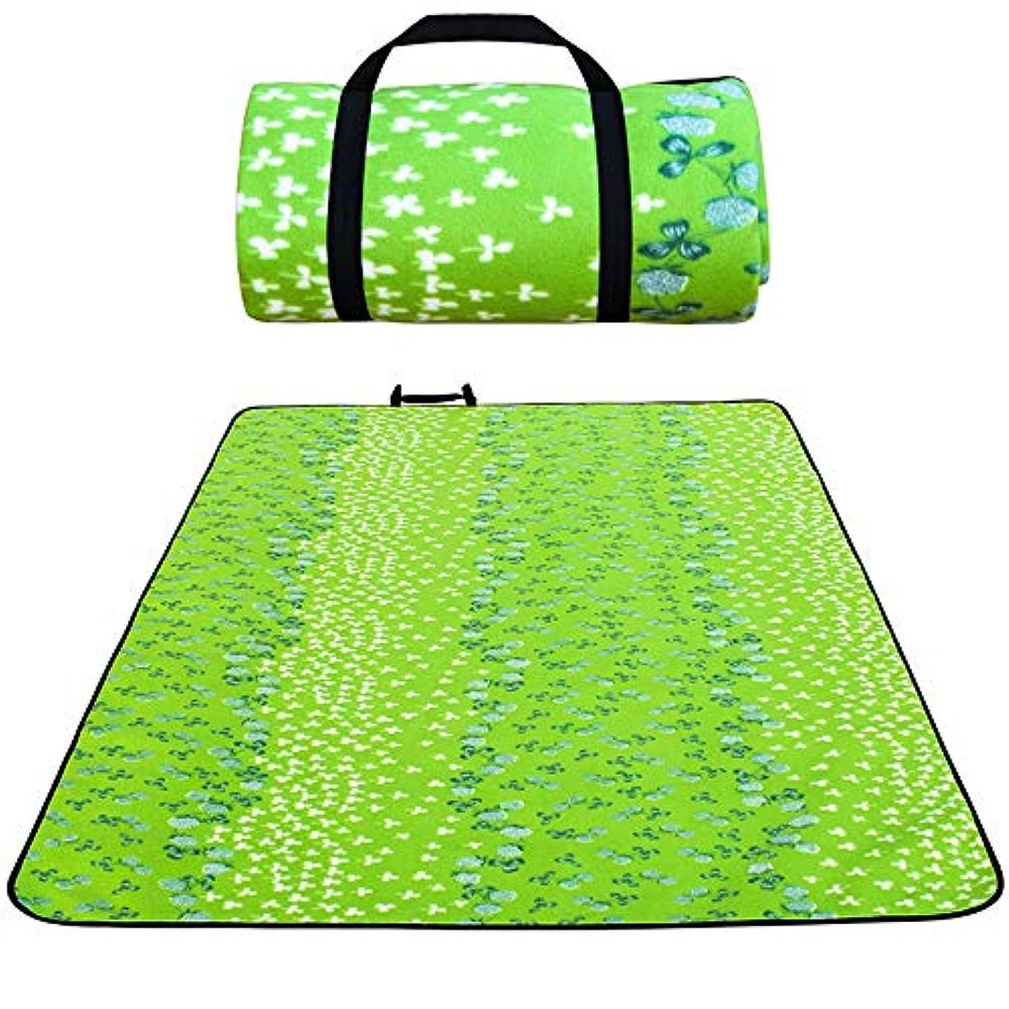 十二くいろいろ特大のピクニック及び屋外毛布二重層、旅行毛布のための浜の毛布の密集したポケット毛布ピクニック毛布