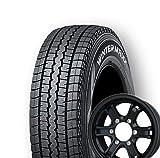 【適合車種:ニッサン NV350キャラバン(E26系)2012~】 DUNLOP WINTER MAXX SV01 195/80R15 スタッドレスタイヤ ホイールセット 一台分4本セット アルミホイール:WEDS冬 キーラー フォース リミテッド_マットブラック 5.5-15 6/139 (15インチ スタッドレスタイヤホイールセット)