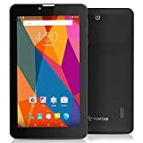 YUNTAB(JP) 7 インチ タブレット/tablet PC IPS液晶  3G/GPS/BT/ 標準デュアルsimカード  クアッドコアAndroid5.1通話タブレットPC  Googleプレイ対応 衛星GPSとWi-Fi GPS対応(黒)