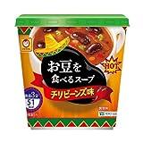 マルちゃん お豆を食べるスープ チリビーンズ味 12.4g×6個