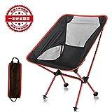 【アウトドアチェア・キャンプ用品】Linkax 折りたたみコンパクトチェア アルミ合金&軽量 専用ケース付き (キャンプ椅子)