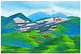 トランペッター 1/72 中国空軍 ファンタン Q-5A攻撃機 プラモデル 01686