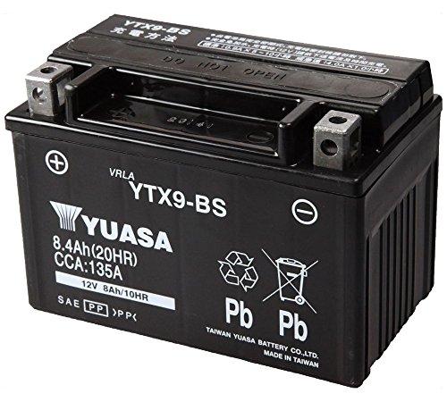 TAIWAN YUASA [ 台湾ユアサ ] シールド型 バイク用バッテリー YTX9-BS
