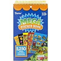 DARICE STRK-12B Mega Decorative Stickers, Boy