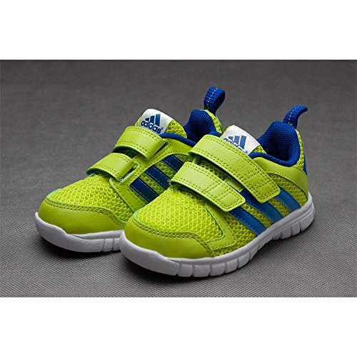 New Girls Kids Adidas Fluid Conv CF Velcro Sports Trainers Shoes Size 10-2 UK