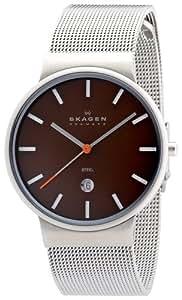 [スカーゲン]SKAGEN 腕時計 basic steel mens J351LSSDCO ケース幅: 34mm 日本限定カラー メンズ [正規輸入品]