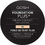[GOSH ] 基礎プラス+クリーミーコンパクトな自然004 - Foundation Plus+ Creamy Compact Natural 004 [並行輸入品]